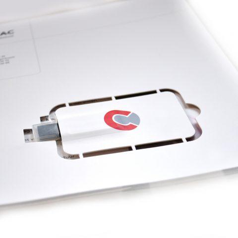 USB flyer
